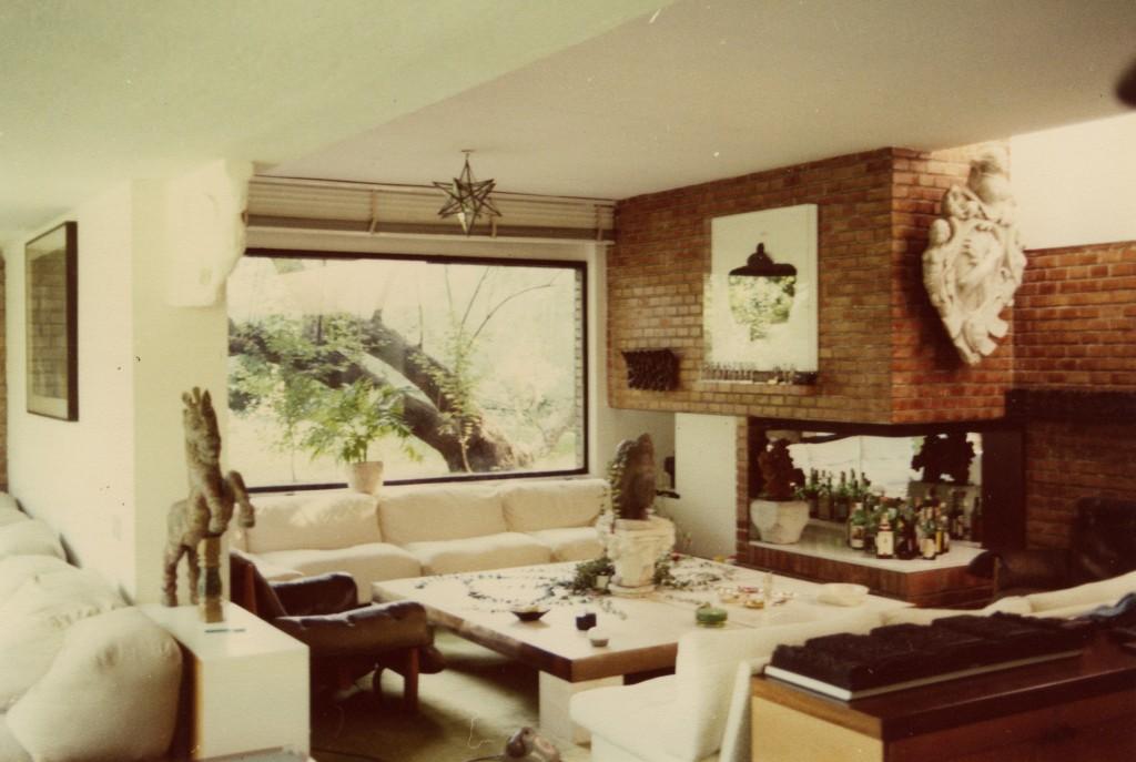 Gli interni negli anni '70