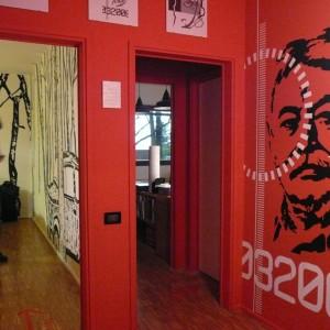 Ambienti occupati dal centro studi Dante Bighi e UXA Ufficio per l'Architettura