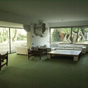 Il salone nel 2008, anno della riapertura