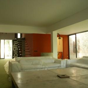 Il salone, vero l'ingresso nel 2008, anno della riapertura
