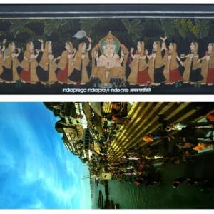 India prega con copertina dipinta
