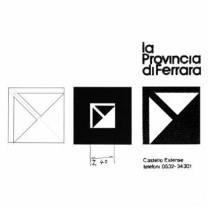 Studio per logotipo Provincia di Ferrara